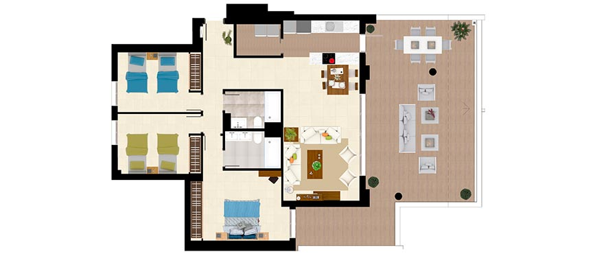 Plan-1-Botanic_Apartment_TIPOA