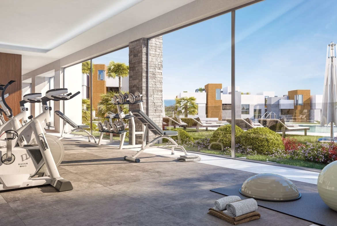 The common areas of Artola Homes have been conceived and designed considering the commitment to sustainability, with a wide range of features, and offering top-quality facilities.